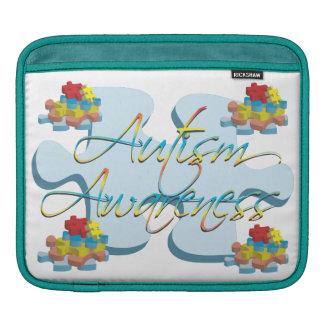 Autism Awareness Puzzle Pieces iPad Sleeve