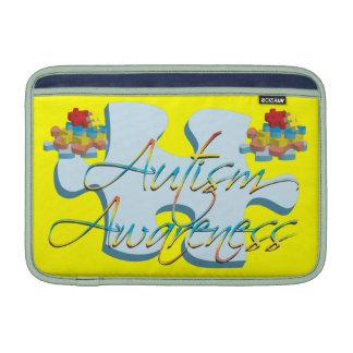 Autism Awareness Puzzle Pieces MacBook Air Sleeve