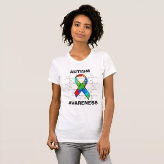Autism Awareness Puzzle Pieces Ribbon Shirt