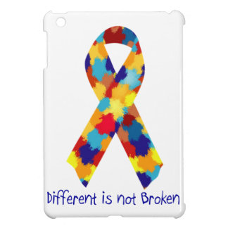 Autism Awareness Puzzle Support Ribbon iPad Mini Case