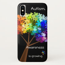 Autism Awareness Puzzle Tree Smart Phone Case