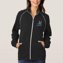 Autism Awareness Rainbow Puzzle Ribbon Jacket