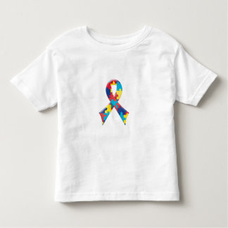Autism Awareness Ribbon A4 Toddler T-shirt
