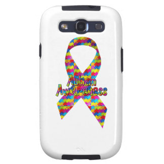 Autism Awareness Ribbon Galaxy S3 Cover