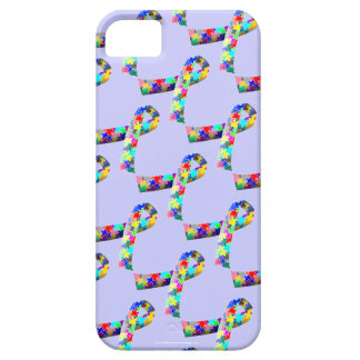 Autism Awareness Ribbon iPhone 5 cover cases
