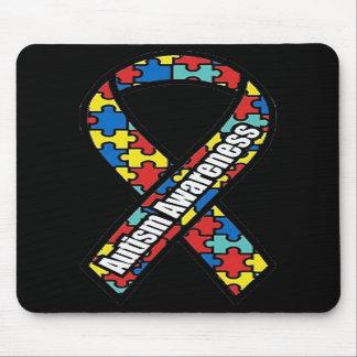 Autism Awareness Ribbon Mousepad