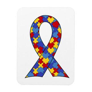 Autism Awareness  Ribbon Rectangular Photo Magnet