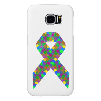 Autism Awareness Ribbon Samsung Galaxy S6 Case