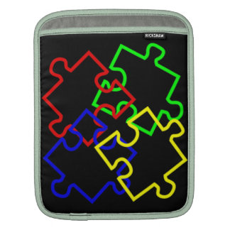 Autism Awareness Rickshaw iPad Sleeve