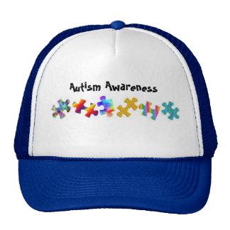 Autism Awareness (Royal Blue/White) Hat