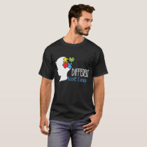 Autism Awareness S Different Not Less Hanes Tagles T-Shirt