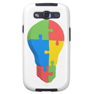 Autism Awareness Samsung Galaxy S3 Case Lightbulb