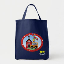 autism, bag, tote, gift, children, school, day, care, nursery, birthday, Bag with custom graphic design