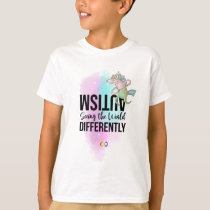 Autism Awareness Seeing Differently Neurodiversity T-Shirt