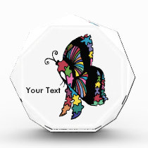 Autism Awareness side butterfly Award