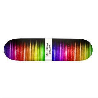 Autism Awareness Skateboard