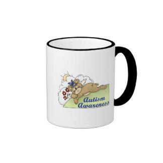 Autism Awareness Sleeping Bear Mug