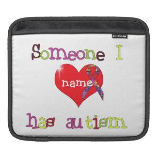 Autism Awareness Sleeve For iPads