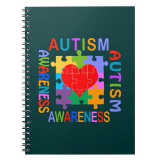 Autism Awareness Spiral Notebook