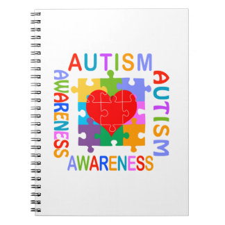 Autism Awareness Spiral Notebook