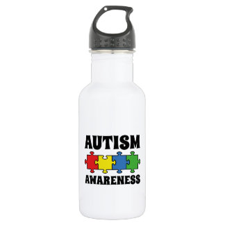 Autism Awareness Stainless Steel Water Bottle