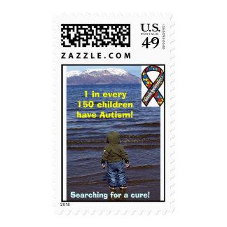 Autism Awareness Stamp design