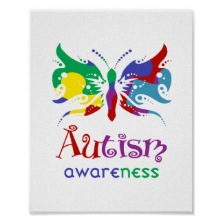 Autism Awareness (standard picture frame size) Poster