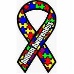 Autism Awareness Standing Photo Sculpture