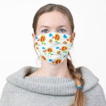 Autism Awareness Sunflower Cloth Face Mask
