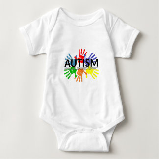 Autism Awareness - Support Educate Advocate Baby Bodysuit