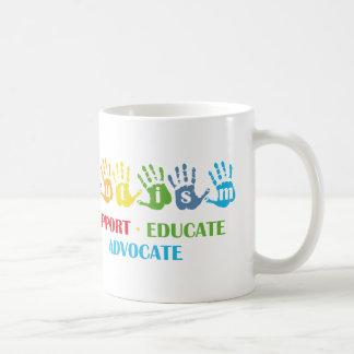 Autism Awareness : Support Educate Advocate Coffee Mug