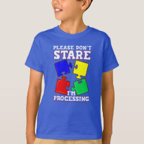 Autism Awareness Support Puzzle Piece T-Shirt