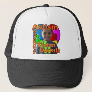 Autism Awareness- Support Team Isaiah Trucker Hat
