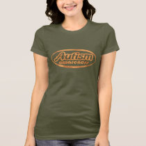 Autism Awareness T-Shirt (Oval-DO)