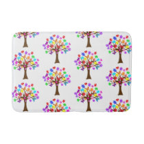 Autism Awareness Tree Bath Mat