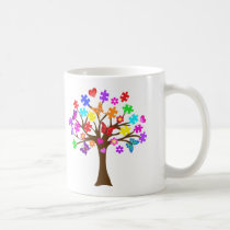 Autism Awareness Tree Coffee Mug