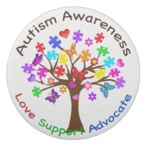 Autism Awareness Tree Eraser