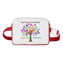 Autism Awareness Tree Fanny Pack