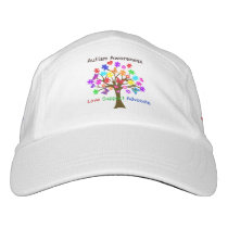 Autism Awareness Tree Hat