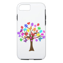 Autism Awareness Tree iPhone 8/7 Case