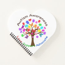 Autism Awareness Tree Notebook