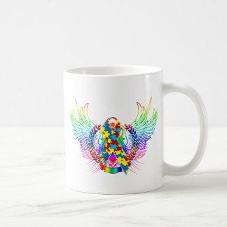 Autism Awareness Tribal Coffee Mug