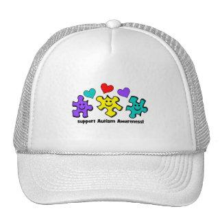 Autism Awareness Trucker Hats