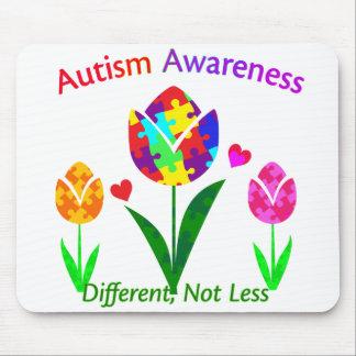 Autism Awareness Tulip Mouse Pad