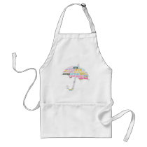 Autism Awareness Umbrella Products Adult Apron