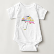 Autism Awareness Umbrella Products Baby Bodysuit