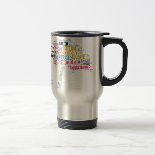 Autism Awareness Umbrella Products Coffee Mugs