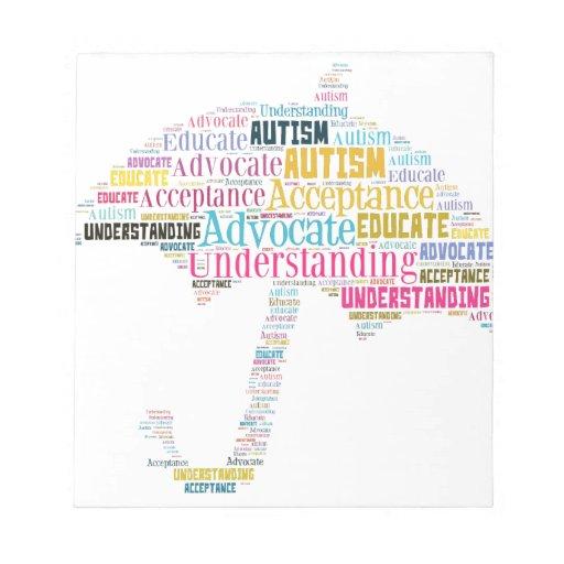 Autism Awareness Umbrella Products Scratch Pads