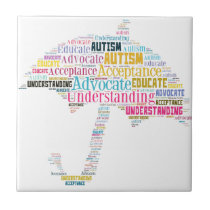 Autism Awareness Umbrella Products Tile