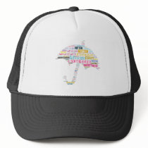 Autism Awareness Umbrella Products Trucker Hat